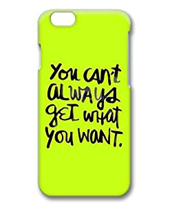 Armener Hard Protective 3D iPhone 6 Plus (5.5 inch) Case With Life Quote-29