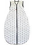 Linden Saco de dormir de Verano largo, diseño de estrellas color blanco blanco Talla:130/110 cm