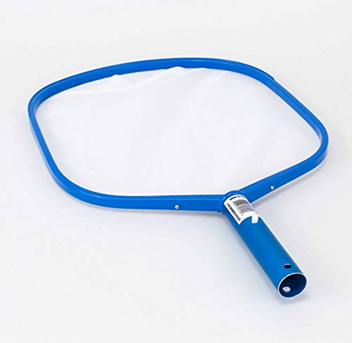Pentair R121026 119 Blue Molded Frame Hand Skimmer with Reinforced Aluminum Handle by Pentair (Image #1)