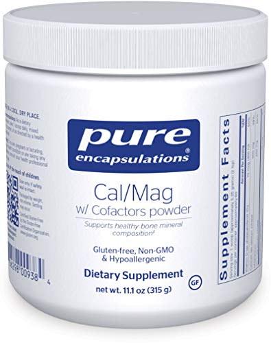 Pure Encapsulations – Cal/Mag with Cofactors Powder – Highly-Absorbable Calcium with Magnesium, Vitamin D, Boron, Silica and Xylitol – 315 Grams For Sale