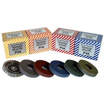 Extra Fine (yellow) Alpha PVA Quick Change Polishing Pads 5 Pack