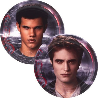 Twilight Eclipse Small Paper Plates (8ct) ()