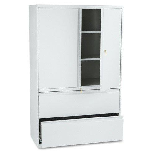 HON895LSQ - HON Brigade 800 Series Lateral File W/ Storage Cabinet