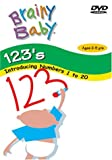Brainy Baby Teach Your Child 123s DVD Numbers 1 to