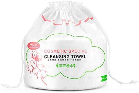 100 almohadillas de algodón para eliminar el maquillaje, compresas ...