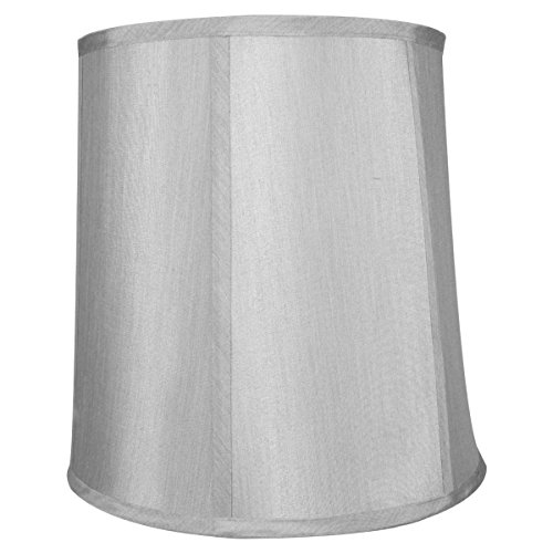 HomeConcept 101212DRGY Bavarian Grey Shantung Fabric Drum La