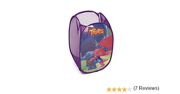 Arditex TL11358 Cesta pongotodo guarda juguetes dise/ño Trolls