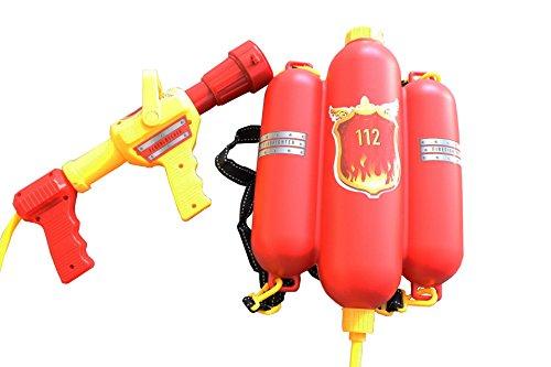 Idena 8040009 - Feuerwehr Wasserspritze circa 40 cm