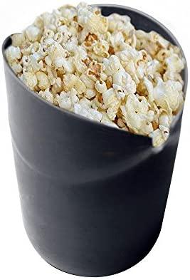 Microondas palomitas de maíz eléctrica, AOLVO silicona palomitas de maiz poppers no aceite plegable palomitas cuenco 100% de calidad alimentaria sin ...