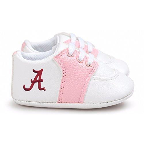 (Future Tailgater Alabama Crimson Tide Pre-Walker Baby Shoes - Pink Trim)