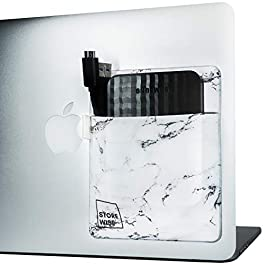 Laptop Organizer – Pocket Holder for External Hard Drive by StoreWise | Home Office Organizer | Modern Storage…