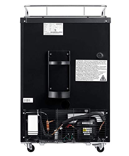 EdgeStar BR3002SS 24 Inch Wide Kegerator Conversion Refrigerator for Full Size Keg - Stainless Steel by EdgeStar (Image #6)