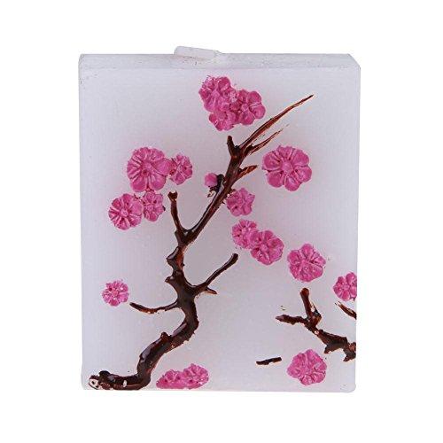 Sakura Candle Gum Resin Bridal Candle Gift