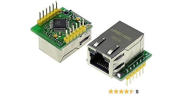 TECNOIOT USR-ES1 W5500 Chip New SPI to LAN/Ethernet ...