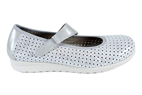 2714 Pitillos Plata Zapatos Talla 39 5zgdW