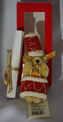 Steiff Genuine Mohair 1996 Christmas Ornament Percussion Drummer New ()