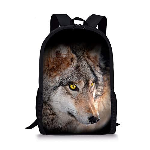 Fox Moyen 1 Cartable Noir 4 Wolf Chaqlin EBq4F