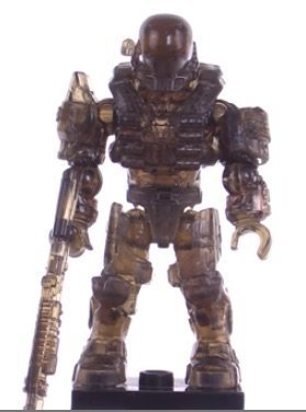 Mega Bloks Halo Charlie Series Mystery CHASE Active Camo Translucent Braun Recon Spartan Factory Sealed by Mega Brands
