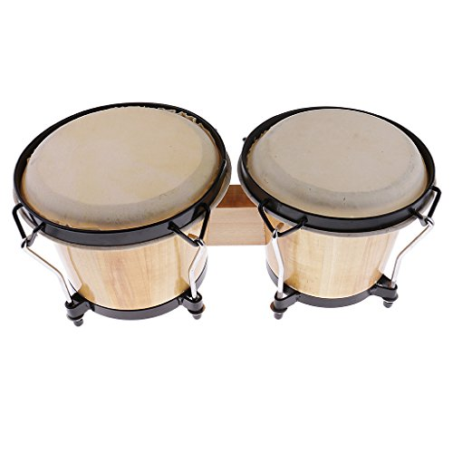 Dovewill Orff Percussion Instrument Bongos Drum African Drum Students Party Supplies by Dovewill