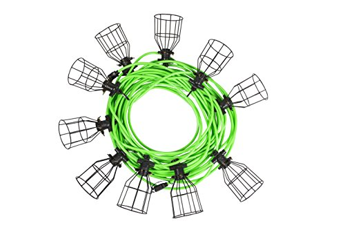 Metal Cage Outdoor String Lights