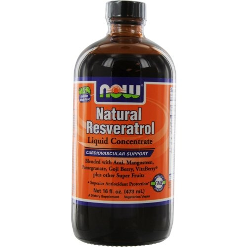 NOW Foods Natural Resveratrol Concentrate product image