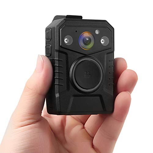 Minigadgets PCNVGPS1080P: Police Body Camera w/Night Vision, GPS Tracking, HDR