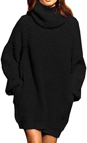 Black Oblique Shoulder Plus Size Oversized Knitted Sweater Mini Dress