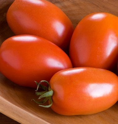 David's Garden Seeds Tomato Paste Amish D3817A (Red) 50 Organic Heirloom Seeds