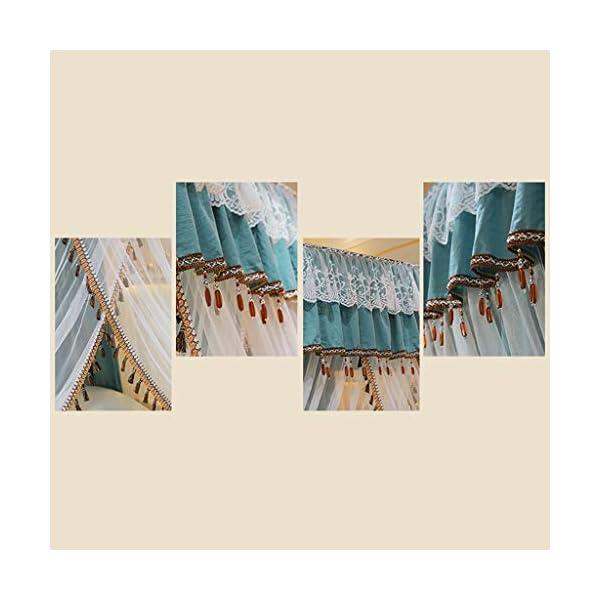 Zanzariera Principessa Quattro montante d'angolo assestamento decorazione della tenda del baldacchino del reticolato… 5 spesavip