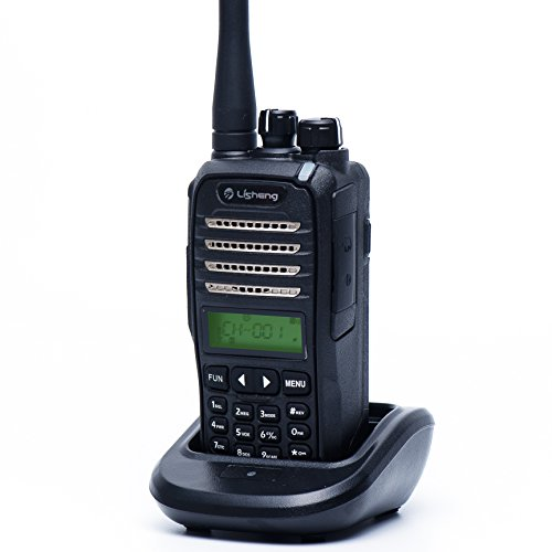 LISHENG LS-747 High Power 10W Amateur Two Way Radio (Black, Set of 1)
