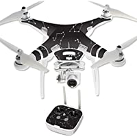 Skin For DJI Phantom 3 Professional – Constellations | MightySkins Protective, Durable, and Unique Vinyl Decal wrap cover | Easy To Apply, Remove, and Change Styles | Made in the USA