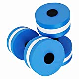 Fullyy Water Barbell Aquatic Exercise Dumbbells Training Yoga Fitness Improve Pool Exercises