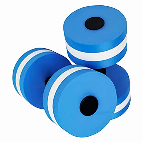 Fullyy Water Barbell Aquatic Exercise Dumbbells Training Yoga Fitness Improve Pool Exercises by Fullyy