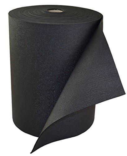 YogaAccessories 1/8'' Classic Yoga Mat Roll  - Black