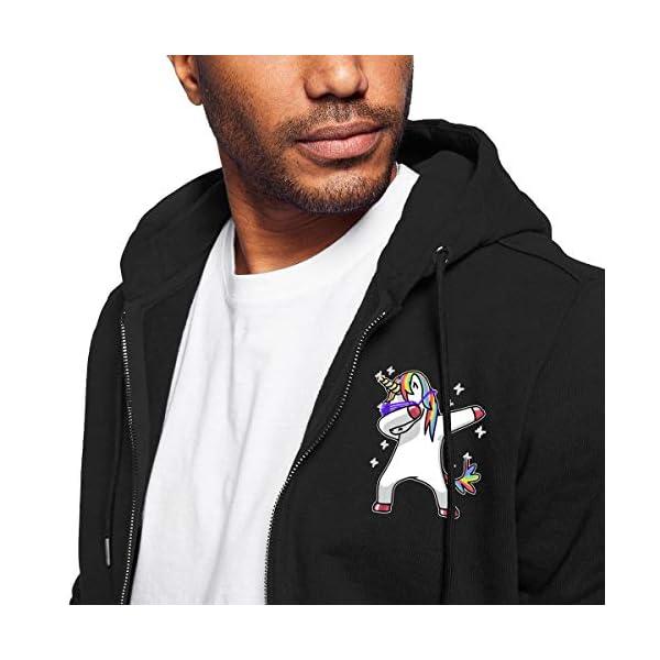Gaga.idol.Type hoodies Mens Warm Sweatshirt Sherpa Lined Basic Hooded Cotton Fleece Slim Hoodie Jacket 5