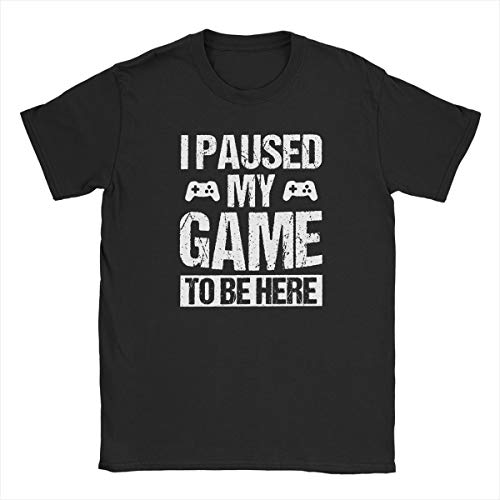 Buy i paused my game t shirt