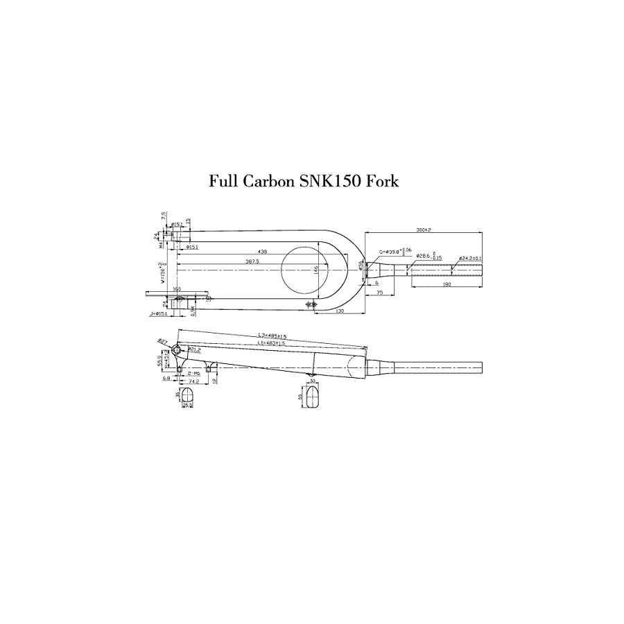 Ican Carbon Rigid Fatbike Fork 26er With 15x150mm Axle Lifestyle Circuit Diagram Xml