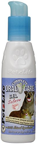 Joy Pet Oral Care Gel with Tarter Remover/Scraper, 4-Ounce, Salmon