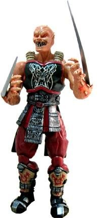 Mortal Kombat Deception Series 1 Action Figure Baraka by Midway -