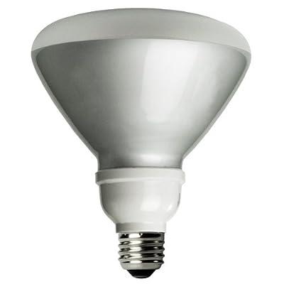 TCP 1R401941K CFL R40 - 85 Watt Equivalent (19W) Cool White (4100K) Flood Light Bulb