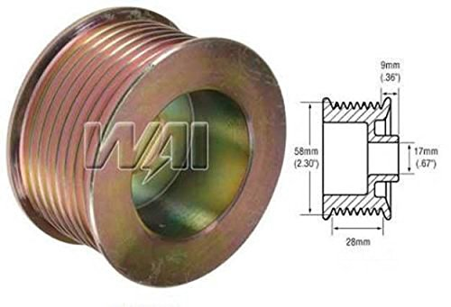 overdrive alternator pulley - 3