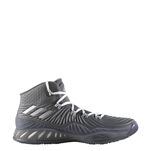 Price comparison product image adidas Men's Crazy Explosive 2017 Basketball Shoe Grey/Silver Size 10.5 M US