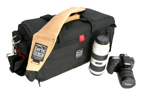 PortaBrace DCO-1R Small DSLR Camera Organizer Bag - Black
