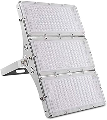 300W Focos LED Exterior, Sararoom Floodlight 180° Ultrafino ...