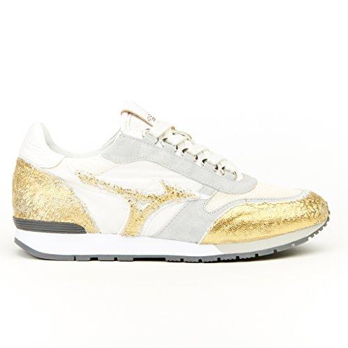 Blanc Femme Gris Chaussures Mizuno Naos Or nxXqwPgv7
