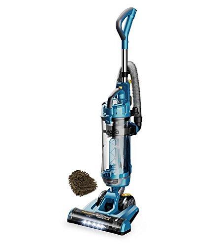 Eureka NEU192A Power Speed Pro Turbo Swivel Plus Upright Vacuum Cleaner, with Attachments, Deep Ocean Blue (Complete Set) w/Bonus: Premium Microfiber Cleaner Bundle