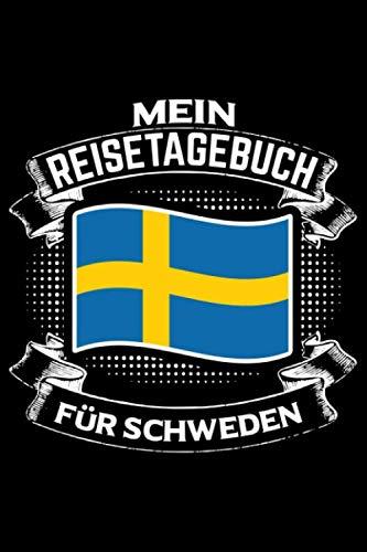 Price comparison product image Mein Reisetagebuch für Schweden: Liniertes DinA 5 Notizbuch Reisetagebuch für Reise und Urlaub-Fans (German Edition)