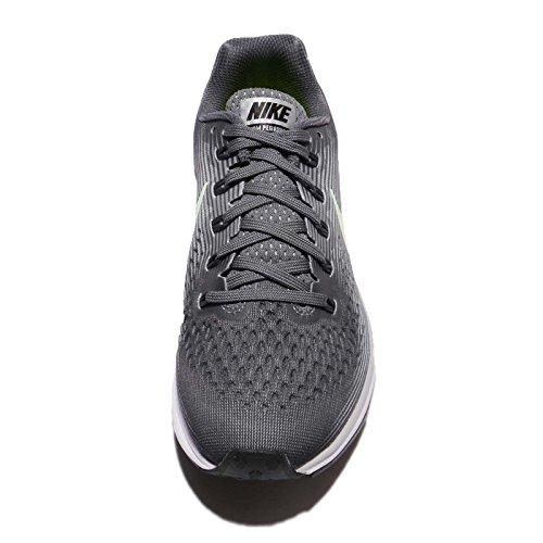 Nike Damen Air Zoom Pegasus 34 Laufschuh Dunkelgrau / Barely Volt / Wolfsgrau