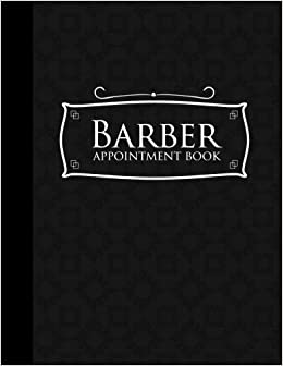 barber appointment book 7 columns appointment log appointment