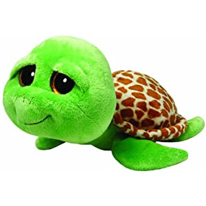 Ty Beanie Boos Buddies Zippy Green Turtle Large Plush - 41PSbsR4FvL - Ty Beanie Boos Buddies Zippy Green Turtle Large Plush